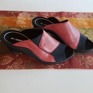 Romika Mokassetta 244 Terra Cotta Red Sandals